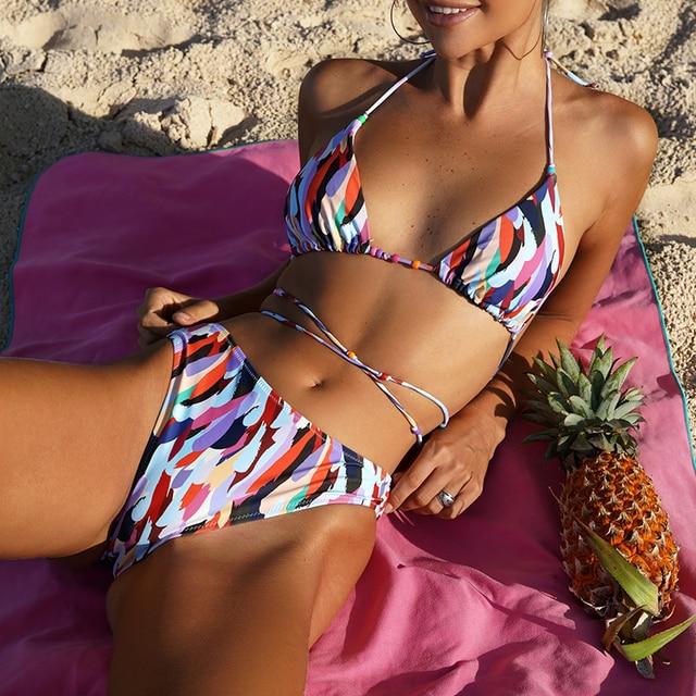 High Cut Triangle Bikini