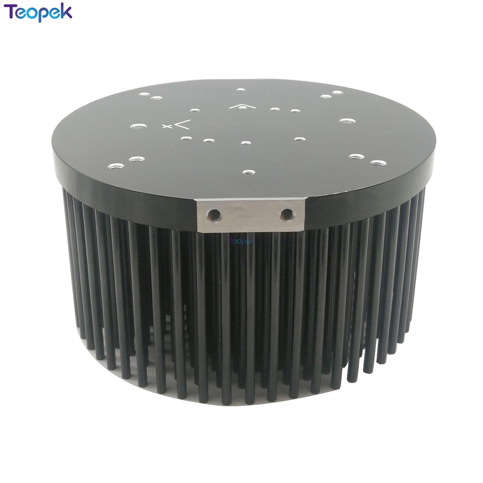 Diameter 133mm Round Pin Din Aluminium Heat Sink Vero 29 Heatsink For CXA350 CXB3590 Heat Sink