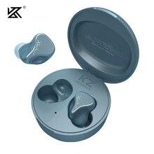 Kz sks 1dd + 1ba verdadeiro tws fones de ouvido sem fio bluetooth 5.2 híbrido jogo controle toque com cancelamento ruído esporte fone ouvido