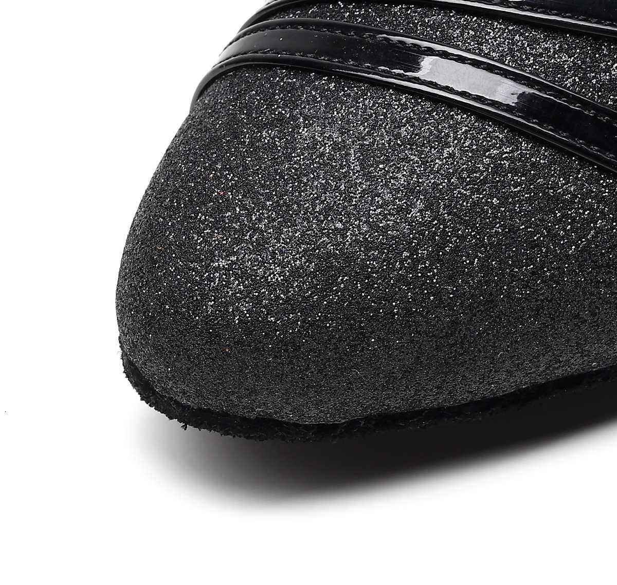 Luxus Jazz Salsa Ballsaal Latin Dance Tan Schuhe Für Tanzen Frauen Praxis Tango Latino Ferse Pointe 1053 Sommer Schwarz Sandalen