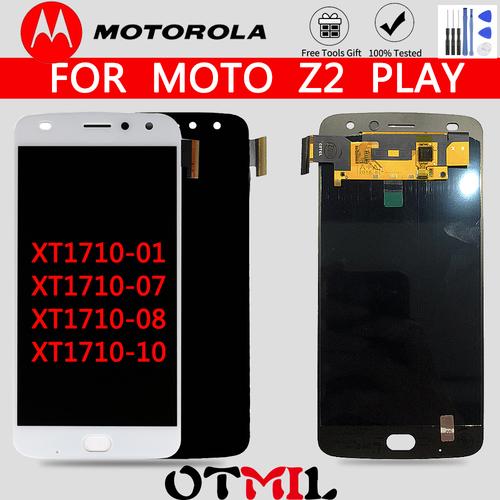 AMOLED OTMIL For MOTO Z2 Play LCD Display Touch Screen Digitizer Replacement For Motorola Moto Z2 Play Screen XT1710-01/07/08/10