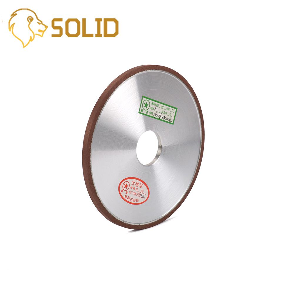 "6/""Diamond Resin Grinding Wheel Disc for Cutter Grinder Polishing 150-400 Grit"