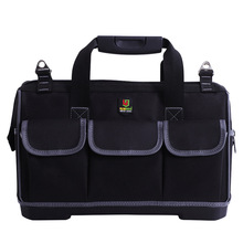15/17/20 Inch New Tool Bag Large Capacity Waterproof Electrician Plastic Bottom MenS Oblique