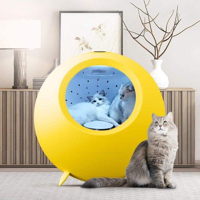 Pet Drying Box 54L Cat & Dog Hair Dryer  1