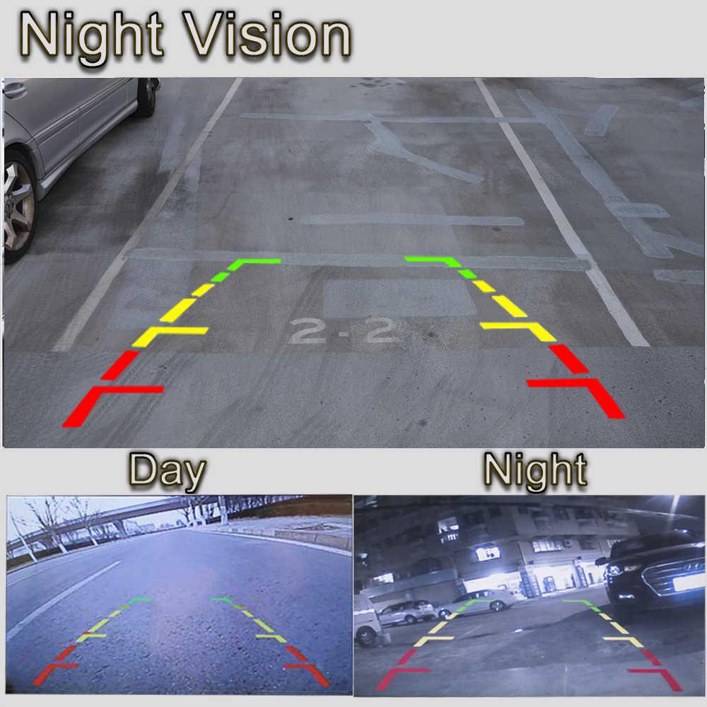 Caméra de recul de voiture à trajectoire fixe ou dynamique pour Suzuki SX-4 SX4 Grand Vitara Alto s-cross Liana moniteur de stationnement arrière de voiture