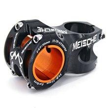 MEISCHE Ultralight 0 derece katlı DH AM Enduro kök MTB kök 50mm CNC 35mm 31.8mm gidon bisiklet 28.6mm dağ kısa kaynaklanıyor