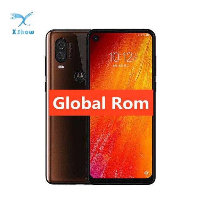 Globale Rom Motorola Moto P50 Smartphone 6.34 2520x1080 6GB 128GB NFC Fingerprint 48MP 25 MP 3500mAh Android 9 Handy