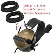 Tactical PELTOR earmuffs COMTAC silicone earmuffs suitable for hunting sports tactical headphones COMTAC I II III IV