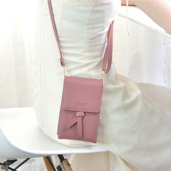 Women New Handbags Fashion Design Shoulder Messenger Bag Trendy Travel Wallet for iPhone 11 PRO MAX X XR XS 7 8 PLUS Crossbody