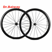 цена на carbon wheelset 700c tubular 38*23mm carbon road wheels NOVAtec 271/372 100*9 130*9mm V Brake road bike carbon wheels 1432 spoke