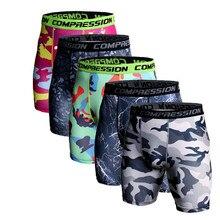 Mens Compression Running Jogging Shorts Sport Tights 2018 Camouflage Bermuda Fitness Men Cossfit Gym Short Leggings Dry