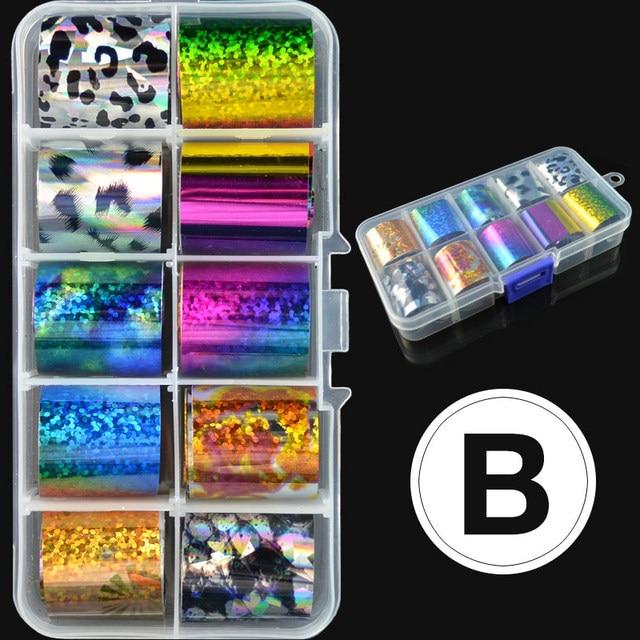 Venalisa Foil Transfer Gel Easy Apply Nail Art Design Manicure Enamel Gel Polish UV LED Gel Nail Polish Lacquer Varnish Foil 4