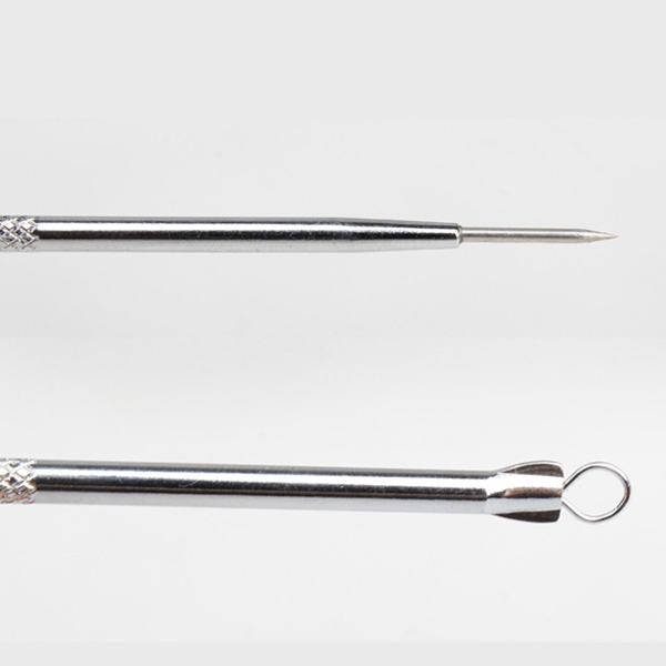 New  Blackhead Extractor Acne Remover Face Tool Stainless Steel Pimple Needle SCI88 3