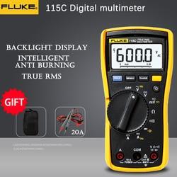 Fluke 115C true RMS tester digital multimeter professional portable digital voltage tester current resistance voltage test