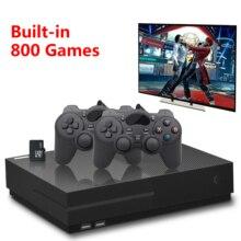 Sega PS1 видеоигра консольный ящик 64Bit 4K HD HDMI выход Ретро 800 классический семейный Ретро видео игры телевидение с 32G XPRO джойстик IDK for xbox one s