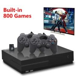 PS1 Video Console di Gioco 64Bit 4K HD Uscita HDMI Retro 800 Famiglia Classica Retro Giochi TV 32G XPRO joystick per il regalo quelli xbox