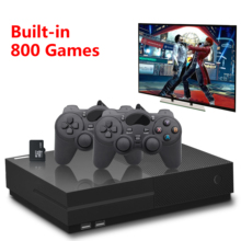 лучшая цена PS1 Video Game Console 64Bit 4K HD HDMI Output Retro 800 Classic Family Retro Games TV 32G XPRO joystick for gift xbox ones