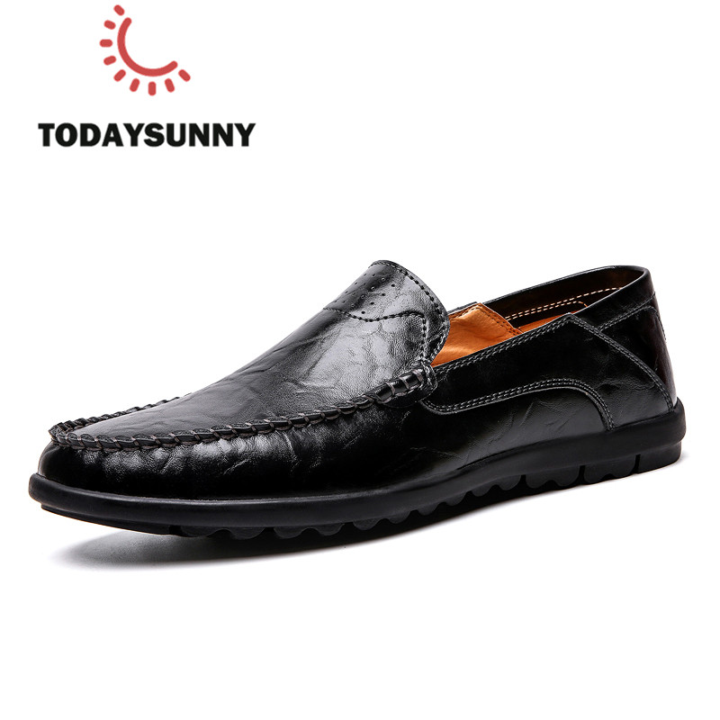 Causal Men Loafer Shoes Soft Slip-On Moccasins Sneakers Male Breathable Driving Shoes Formal Business Sneakers Men Calzado Hombr