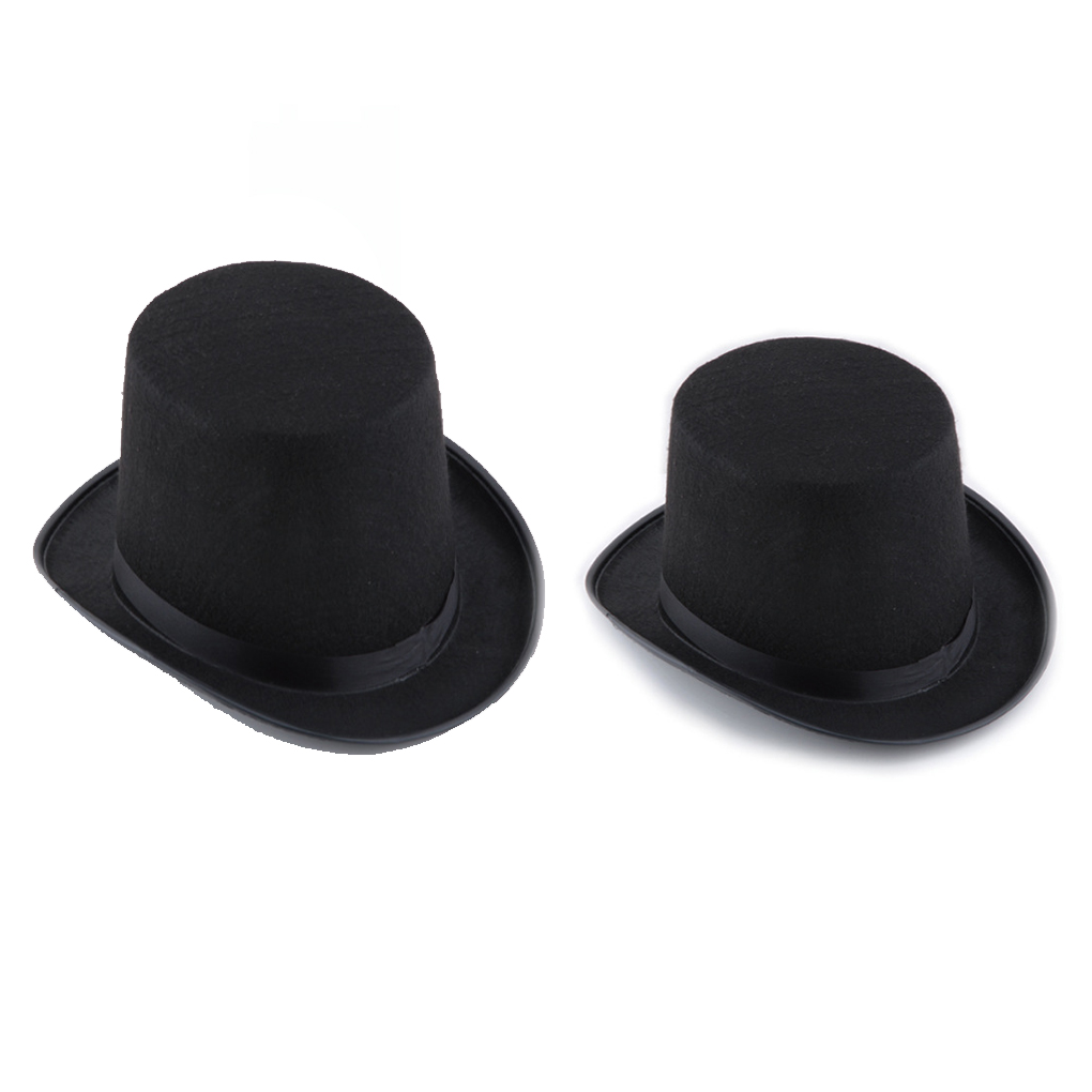 13/16cm Folding Top Hat Magic Trick Stage Prop Magician's Hat Masquerade Party Stage Accessories