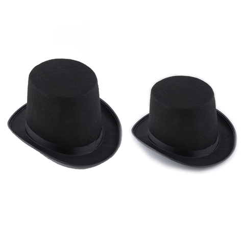 13/16cm Folding Top Hat Magic Trick Stage Prop Magicians Hat Masquerade Party Stage Accessories Pakistan