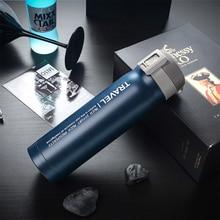 Vacuum Flasks Coffee-Mug Temperature-Display Hot-Water-Bottle Travel 500ML Milk Steel