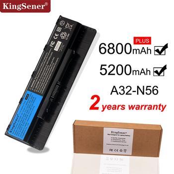 цена на Kingsener A32-N56 Laptop Battery for ASUS N46 N46V N46VJ N46VM N46VZ N56 N56V N56VJ N56VM N76 N76VZ A31-N56 A33-N56