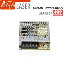 цена на Meanwell LRS-75 Switching Power Supply Switch Power Supply 5V 12V 15V 24V 36V 48V 75W  Original MW Taiwan Brand for Laser Contro