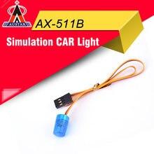 AUSTAR AX-511B Circular Ultra Bright LED Light Blue Strobing-blasting Flashing Fast-slow Rotating Mode for RC Car Model