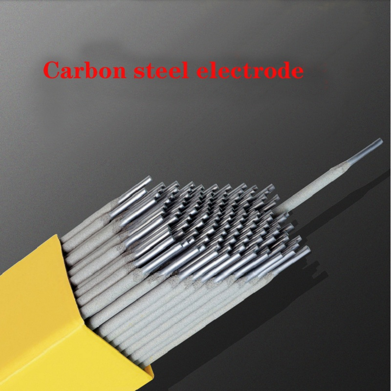 Free Shipping Carbon Steel Welding Rod 10pcs/bag Diameter 2.0 2.5 3.2 4.0 Welding Electrode AC DC