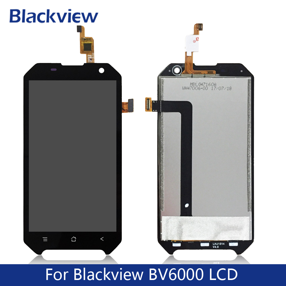 For Blackview <font><b>BV6000</b></font> <font><b>LCD</b></font> Display+Touch Screen,100% Tested Screen Digitizer Assembly Replacement BV6000S BV7000 image