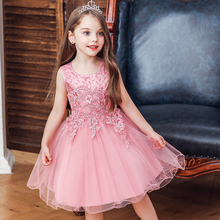 Princess Costume Kids Dresses For Girls Clothing Flower Part