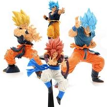 Anime Dragon Ball Z Broli Figure Son Goku Figurine Gogeta Action Figures Vegeta Figur Super Saiya Broly PVC Model Toy Decoration