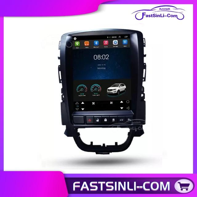 أندرويد للسيارة بويك إكسل أوبل أسترا J 2009 2014 رباعية النواة مشغل ملاحة جي بي إس شاشة رأسية للسيارة