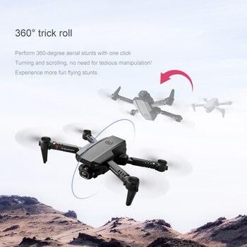 2021 New Mini Drone XT6 4K 1080P HD Camera WiFi Fpv Air Pressure Altitude Hold Foldable Quadcopter RC Drone Kid Toy GIft VS E520 3