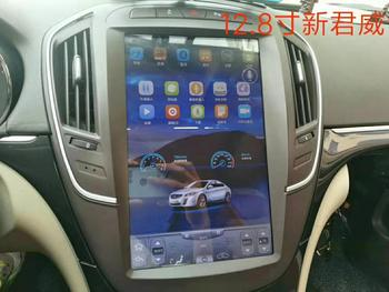 """12.8"""" tesla style vertical screen quad core Android 6.0 Car GPS navigation for Buick Regal,Opel Vauxhall Insignia 2014-2016"""