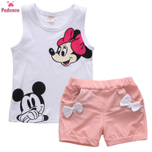 New 2pcs Toddler Infant Kids Baby Girls Clothes cute summer