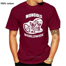Hommes t-shirt MONGOLS MC monde entier t-shirts femmes t-shirt