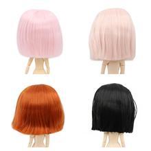 Blyth bambola icy bambola rbl del cuoio capelluto e cupola breve parrucca di capelli bambola giocattolo accessori per il FAI DA TE personalizzato