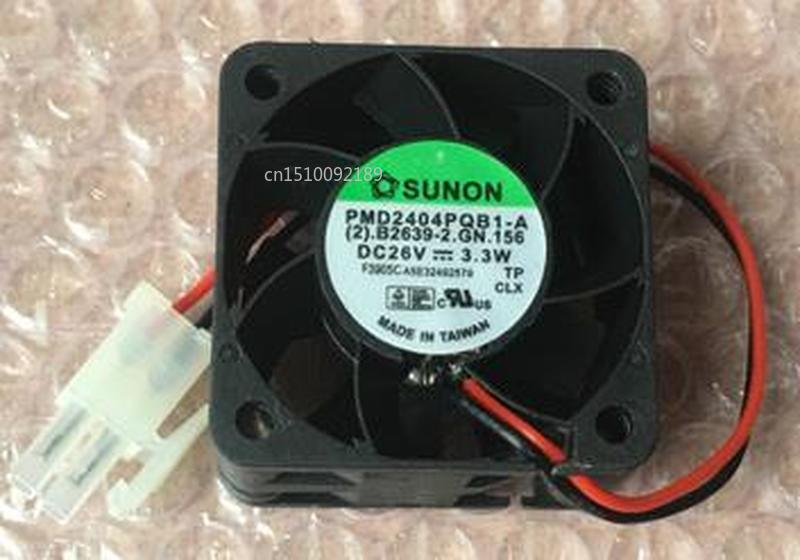 For PMD2404PQB1-A 26V 3.3W 4CM Original 40 * 40 * 28 Inverter Fan Free Shipping