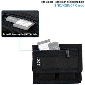 Image 5 - 소니 A9 A7S A7R IV A7 III II A6600 A6400 A6300 A6100 a6000에 대 한 SD cf에 대 한 NP FZ100 NP FW50 카메라 배터리 파우치 메모리 카드 케이스