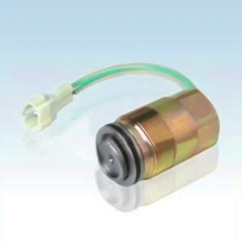 High quality SK200-3 pump solenoid valve,excavator replacement spare parts