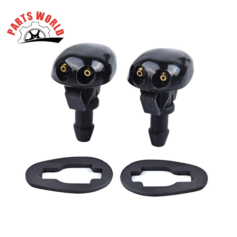 Front Windshield Washer Nozzles For 99-04 Nissan Xterra 98-04 Nissan Frontier Replaces OEM #: 28931-3S500 Spray Jet Kit 2 Packs