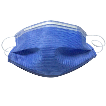100Pcs Disposable Masks Non-Woven 3 Layers of Thickened Civilian Protective Masks