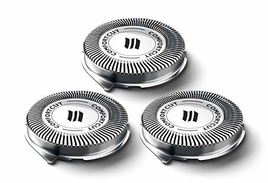 3pcs Shaver Blade Razor Replacement Shaver Head for Ph-Norelco SH30/52 Series 1000 2000 <font><b>3000</b></font> HQ64 PT720 PT724 S5010 PT722 image
