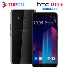 HTC U11 + U11 Plus 64 Гб Оригинальный разблокированный GSM 3G & 4G Android мобильный телефон Octa Core 6,0