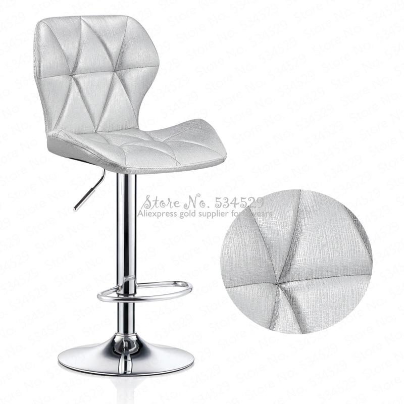 30%Bar Chair Lift Modern Minimalist Home Rotating Bar Chair High Stool Front Desk Cash Register Chair Back Stool