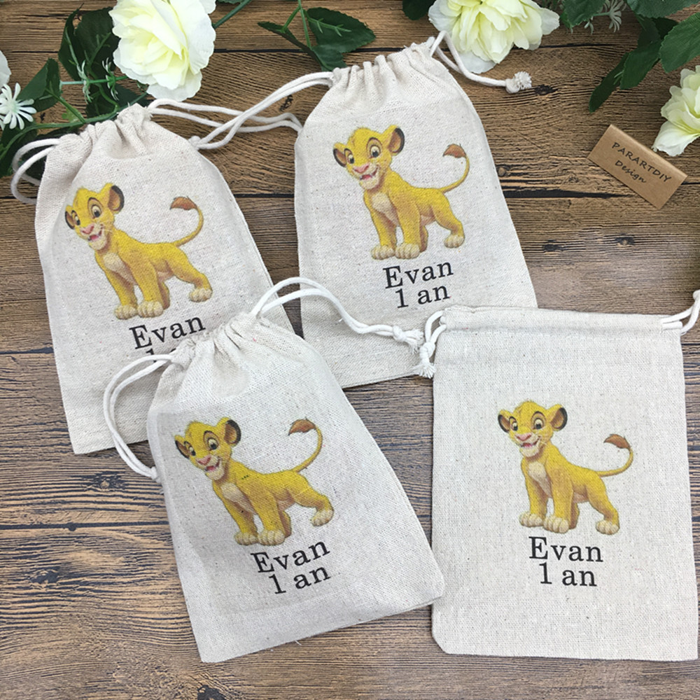 Personalised Candy Bags Stickers Birthday Baby Shower Baptism Labels ONLY 8X