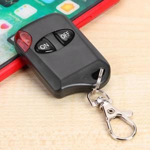 Image 5 - AK KB1810 4 Knoppen 433Mhz Afstandsbediening Universele Kopie Duplicator Elektrische Schakelaar Voor Garagedeur Alarm Automatische Deuren
