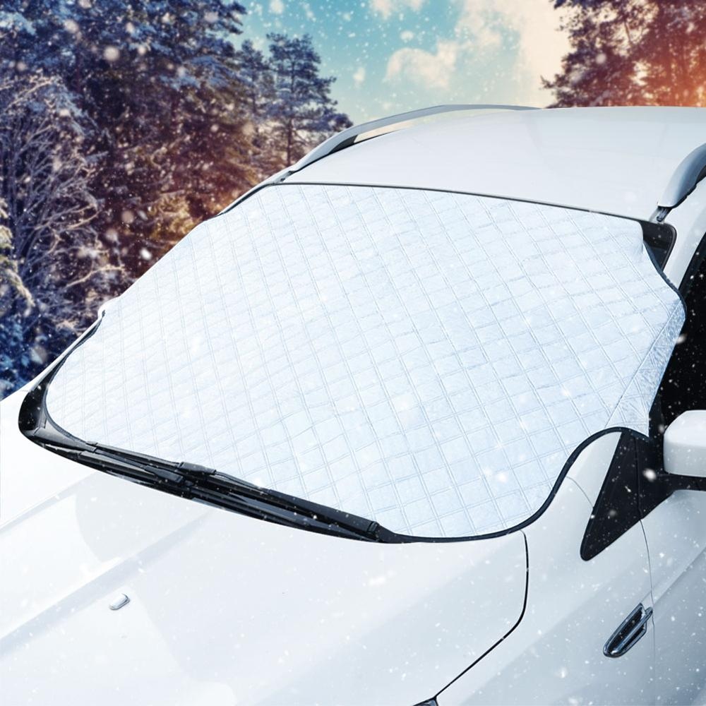 Car Windshield Snow Cover UV Sun Shade Protection Covers Car Window Protector Cover