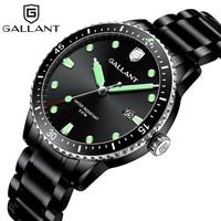 Relógio de quartzo preto relógio masculino impermeável relógios para homem Relógios de quartzo     -